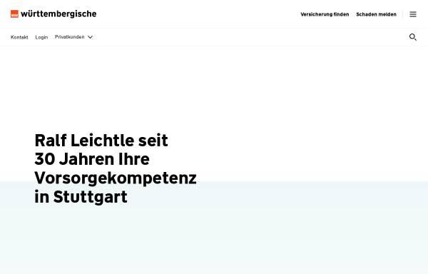 Vorschau von www.wuerttembergische.de, Wüstenrot & Württembergische AG