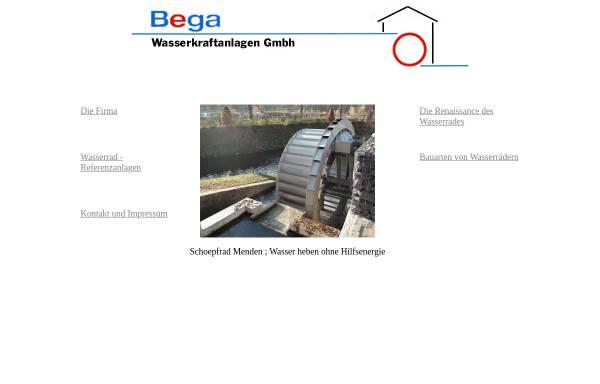 Vorschau von www.bega-wasserkraft.de, Bega Wasserkraft GmbH