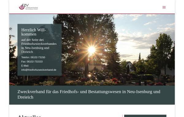 Vorschau von www.friedhofszweckverband.de, Friedhofszweckverband für Neu-Isenburg und Dreieich