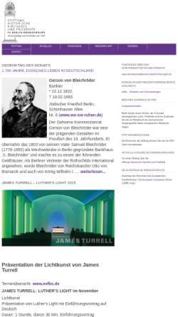 Vorschau der mobilen Webseite www.stiftung-historische-friedhoefe.de, Stiftung Historische Kirchhöfe und Friedhöfe in Berlin-Brandenburg