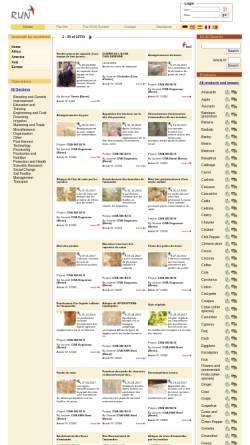 Vorschau der mobilen Webseite www.runetwork.org, RUN Netzwerk für landwirtschaftliche Entwicklung