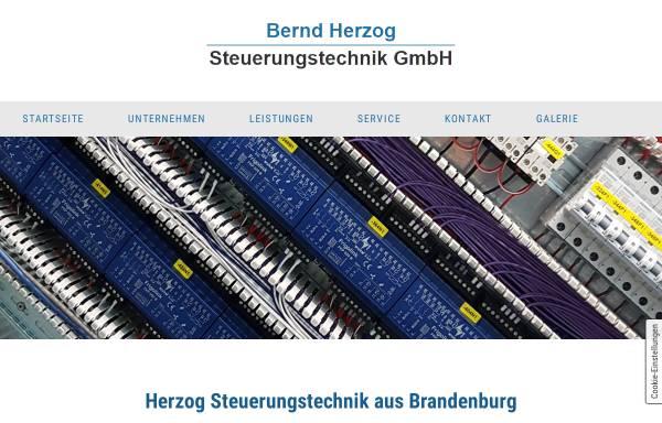Vorschau von www.herzog-steuerungstechnik.de, Bernd Herzog Steuerungstechnik GmbH