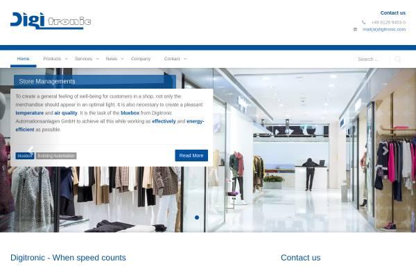 Vorschau von www.digitronic.com, Digitronic GmbH