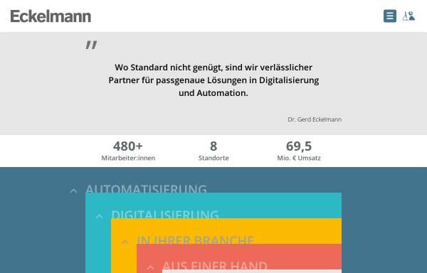 Vorschau von www.eckelmann.de, Eckelmann AG