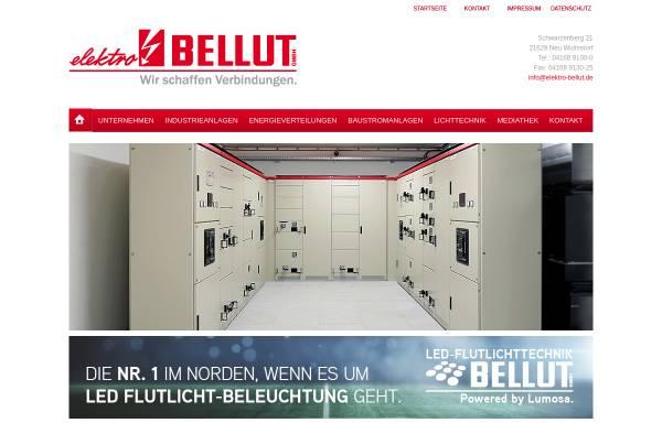 Vorschau von www.elektro-bellut.de, Elektro Bellut GmbH