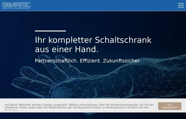Vorschau von www.elmatec-sb.de, Elmatec Elektromaterial und Schaltschrankservice GmbH