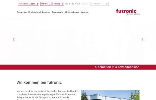 Vorschau von www.futronic.de, futronic GmbH