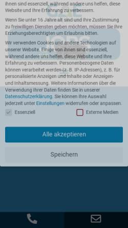 Vorschau der mobilen Webseite www.gae-automatisierung.de, GAE Gardelegener Automatisierungstechnik und Elektrobau GmbH