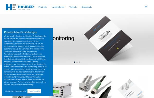 Vorschau von www.hauber-elektronik.de, Hauber-Elektronik GmbH