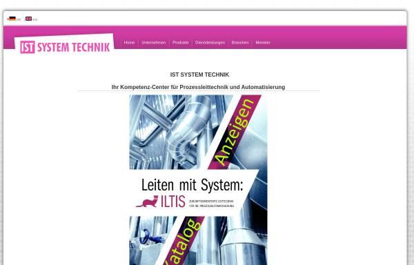 Vorschau von www.ist.ch, IST System-Vertrieb GmbH
