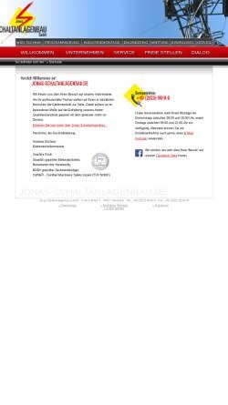 Vorschau der mobilen Webseite www.jonas-schaltanlagenbau.de, Jonas Schaltanlagenbau GmbH