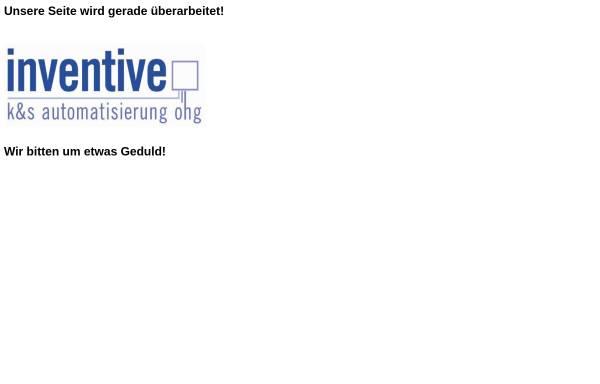 Vorschau von www.inventive-automatisierung.de, K & S Automatisierung oHG
