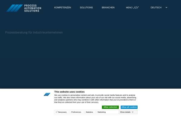 Vorschau von www.langundpeitler.de, Lang und Peitler Automation GmbH
