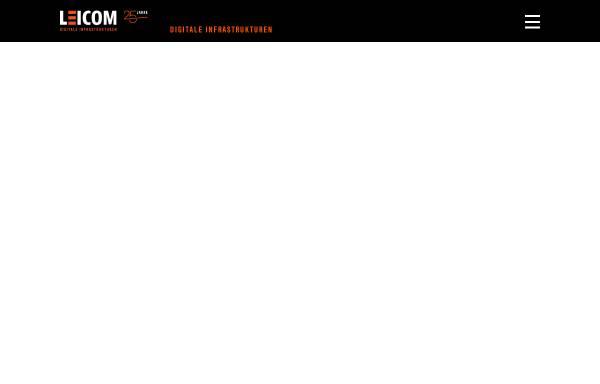Vorschau von www.leicom.ch, Leicom AG