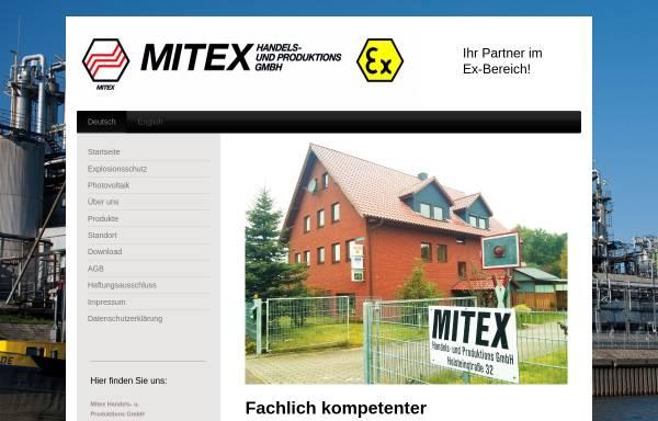 Vorschau von www.mitex-gmbh.de, Mitex Handels- und Prod. GmbH