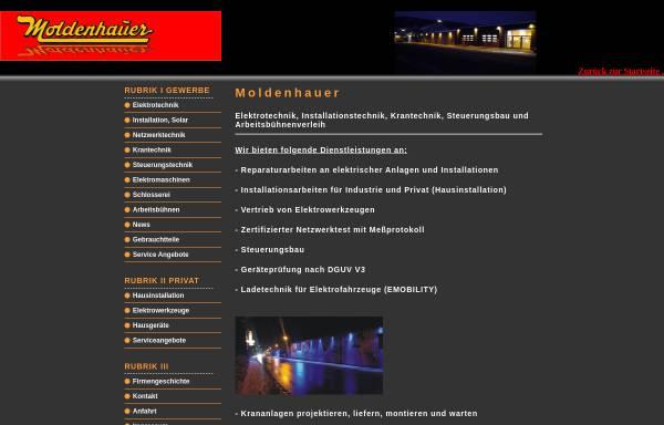 Vorschau von www.moldenhauer-altena.de, Moldenhauer e.K.