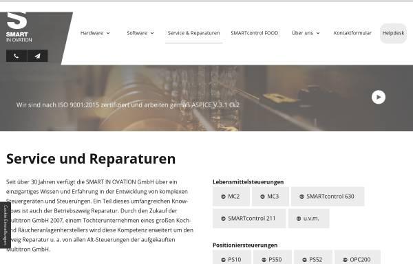 Vorschau von www.multitron.de, Multitron Elektronik GmbH & Co. KG
