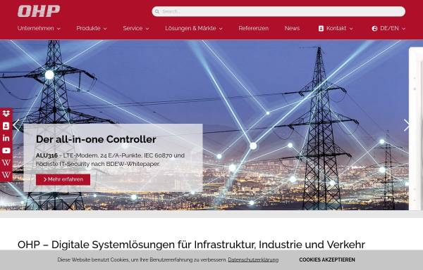 Vorschau von www.ohp.de, OHP Automatisierungssysteme GmbH