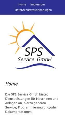 Vorschau der mobilen Webseite www.sps-sonnenburg.de, Sonnenburg Automatisierungstechnik, Inh. Jürgen Sonnenburg