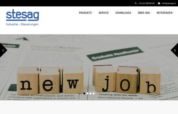 Vorschau von www.stesag.ch, Stesag
