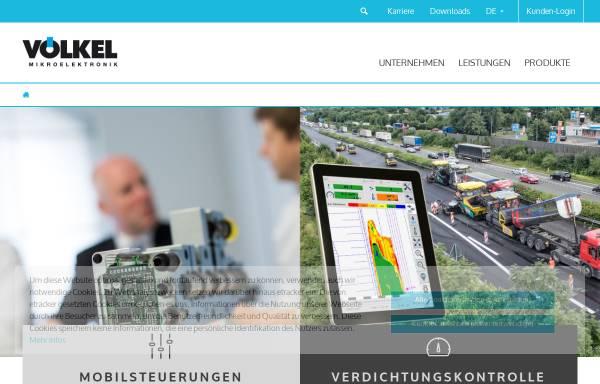 Vorschau von www.voelkel.de, Völkel Mikroelektronik GmbH