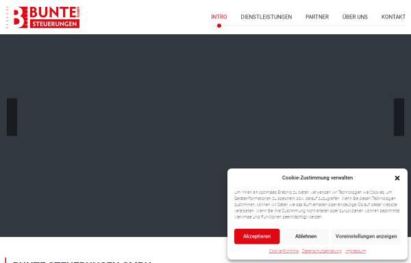 Vorschau von www.w-bunte.de, Wolfgang Bunte