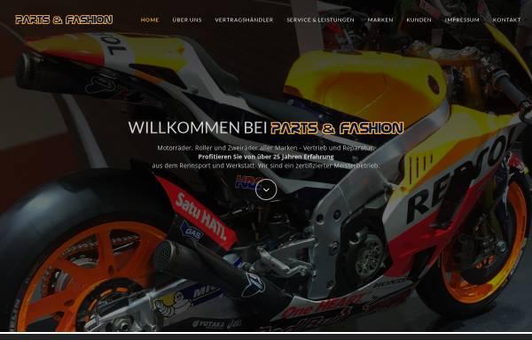 Vorschau von www.partsandfashion.de, Honda Vertragshändler in 92355 Velburg