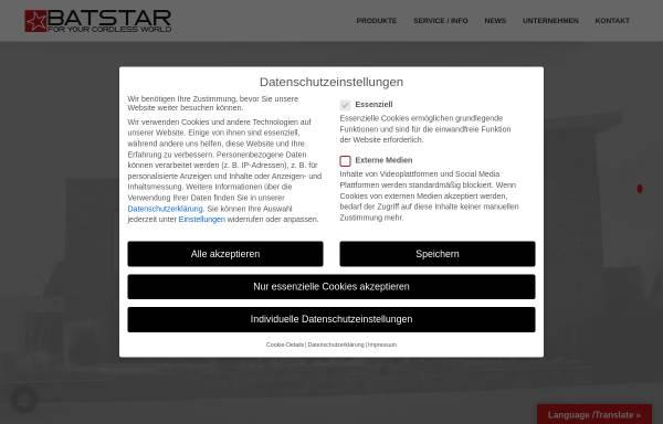 Vorschau von www.batstar24.de, Batstar GmbH