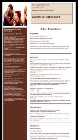 Vorschau der mobilen Webseite socio.ch, Forschungsprojekt