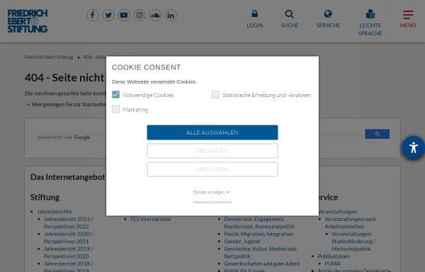 Vorschau von www.fes.de, Die Zukunft der Arbeitsgesellschaft - Ein deutsch-amerikanischer transatlantischer Dialog