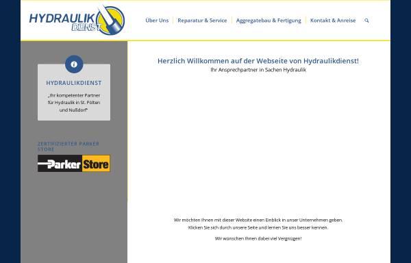 Vorschau von www.hydraulikdienst.at, Hydraulikdienst Ges.m.b.H.