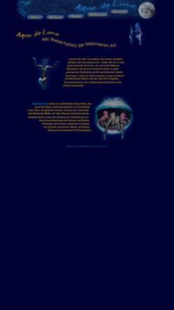 Vorschau der mobilen Webseite aquadeluna.de, Aqua de Luna