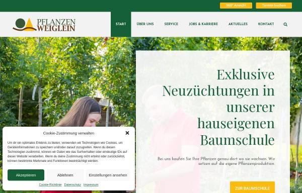 Vorschau von www.pflanzen-weiglein.de, Pflanzen Weiglein