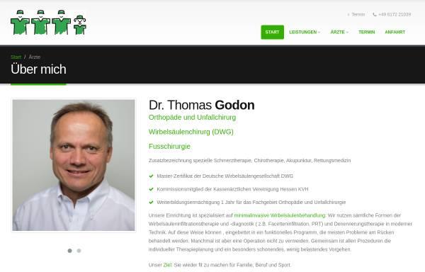 Vorschau von dr-godon.de, Dr. med. Thomas Godon