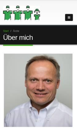 Vorschau der mobilen Webseite dr-godon.de, Dr. med. Thomas Godon