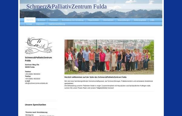 Vorschau von www.schmerzzentrumfulda.de, Schmerzzentrum Fulda