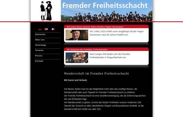 Vorschau von www.fremderfreiheitsschacht.de, Fremder Freiheitsschacht