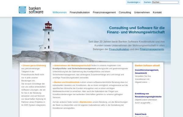 Vorschau von www.bankensoftware.net, Banken Software BS GmbH
