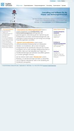 Vorschau der mobilen Webseite www.bankensoftware.net, Banken Software BS GmbH