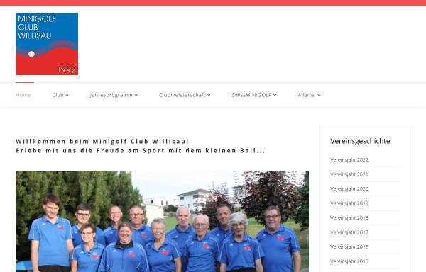 Vorschau von www.mc-willisau.ch, Minigolf Club Willisau
