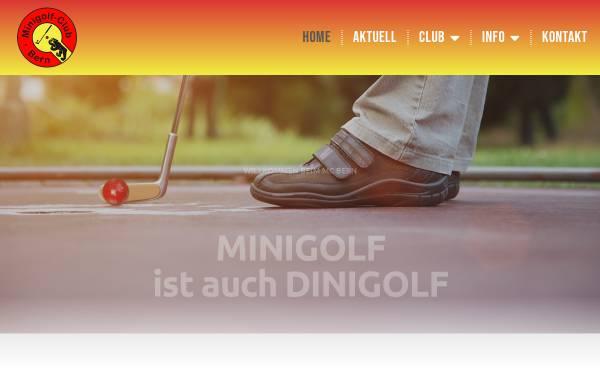 Vorschau von www.mcbern.ch, Minigolf-Club Bern