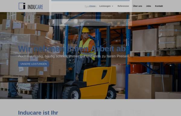 Vorschau von www.inducare.de, Inducare e.K - Integrationsunternehmen
