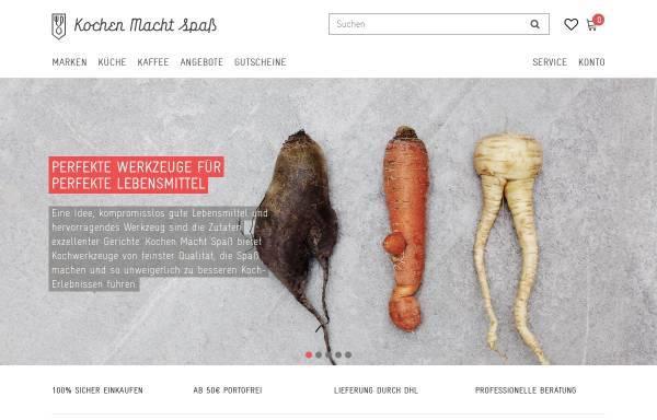 Vorschau von www.kochen-macht-spass.com, Qiwi Service, KMS, Stefan Roth