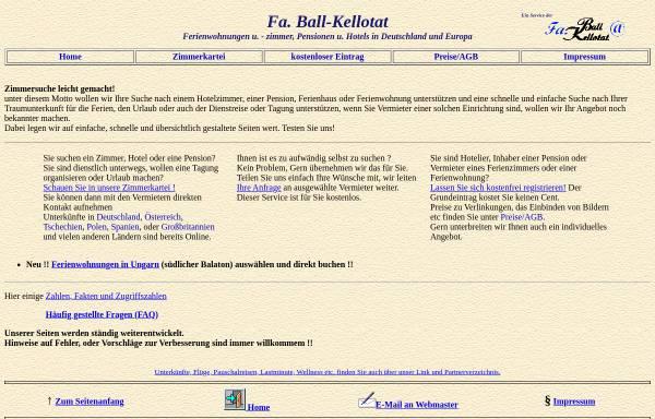 Vorschau von www.ball-kellotat.de, Ball-Kellotat.de [Ball-Kellotat GbR]