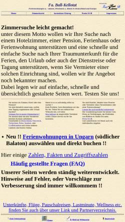 Vorschau der mobilen Webseite www.ball-kellotat.de, Ball-Kellotat.de [Ball-Kellotat GbR]