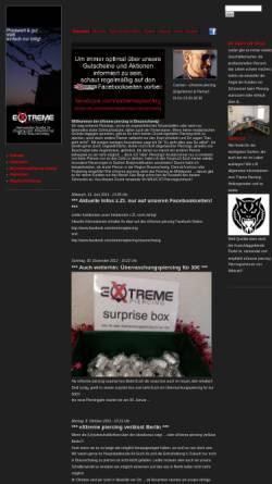 Vorschau der mobilen Webseite www.extremepiercing.de, Extreme Piercing
