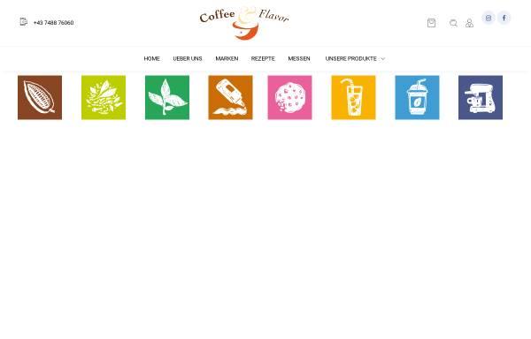 Vorschau von www.coffeeandflavor.at, Coffee & Flavor