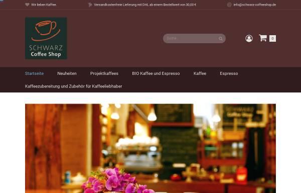 Vorschau von www.schwarz-coffeeshop.de, Schwarz Coffee Shop GmbH