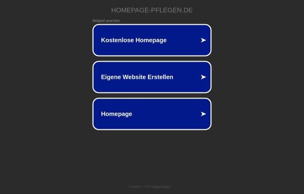 Vorschau von www.homepage-pflegen.de, Homepage Manager