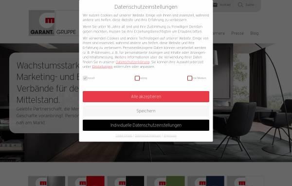 Vorschau von www.garant-gruppe.de, Garant Möbel Holding AG